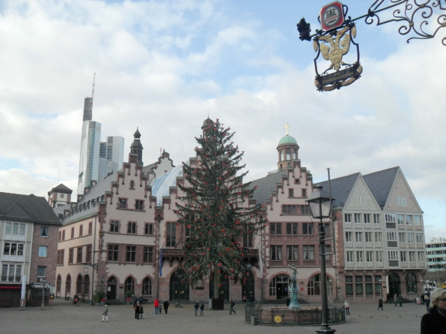 Teilflächen Römer in Frankfurt